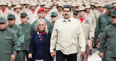 نيكولاس مادورو يشهد بدأ تدريبات عسكرية بمقر القيادة التشغيلية الاستراتيجية للقوات المسلحة