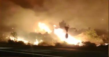 الجزائر.. حرائق ضخمة تلتهم آلاف الأشجار المثمرة ومساحات واسعة من الأحراش