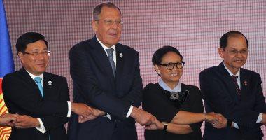 سيرجى لافروف: روسيا تقيم حوارا مع آسيان فى عالم مضطرب