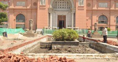 هل أعمال تطوير المتحف المصرى بالتحرير تعيق الزوار؟ الآثار تجيب