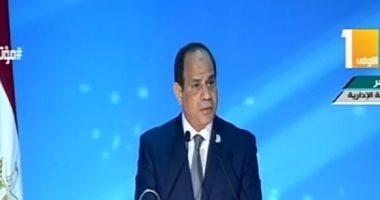 الرئيس السيسى: رهانى على المصريين كان رابحًا.. ولن نرضى بغير المجد بديلًا..فيديو