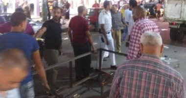 حملات مسائية لرفع اشغالات الطريق شرق ووسط الإسكندرية