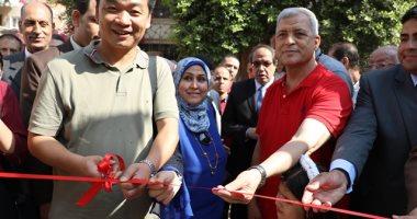 صور.. محافظ المنوفية يفتتح أول مدرسة تعمل بالطاقة الشمسية بالمحافظة