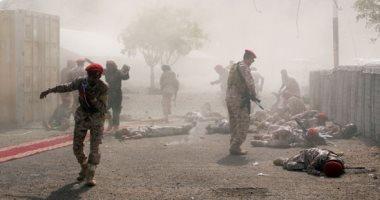 عشرات القتلى فى هجوم على عرض عسكرى للجيش اليمنى فى عدن