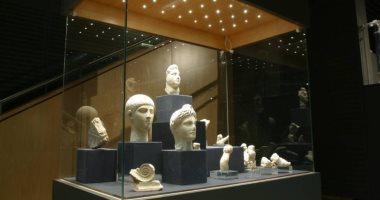 متحف الآثار بمكتبة الإسكندرية يسمح بالتصوير باستخدام الهواتف المحمولة
