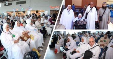 """""""مصر للطيران"""" تسير اليوم 18 رحلة جوية لنقل 4200 حاج من الأراضى المقدسة"""