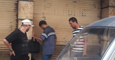 إزالة اشغالات الطريق وغلق محلات بدون ترخيص شرق الإسكندرية