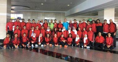 منتخب الكاراتيه يغادر إلى تونس للمشاركة فى البطولة العربية