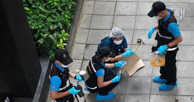 فزع فى شوارع العاصمة التايلندية باكوك بعد انفجار قنبلتين