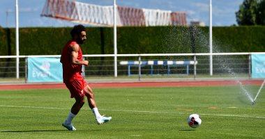 محمد صلاح ينشر صور جديدة من تدريبات ليفربول