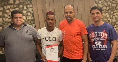 المقاولون العرب يضم برنس بارى لاعب منتخب سيراليون