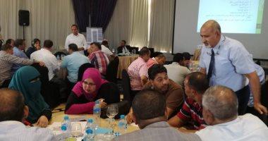 وزارة البيئة تواصل بناء قدرات العاملين فى منظومة المخلفات بمحافظات الصعيد