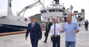 """رئيس وزراء روسيا: جزر كوريل """"أرضنا"""" واحتجاجات طوكيو ليست مثيرة للقلق"""