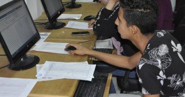 صور.. مكتب تنسيق جامعة القناة يستقبل 812 طالبا من المرحلة الثانية فى يومين