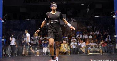 تأهل مصطفى عسل وثنائى دجلة إلى المرحلة الثانية ببطولة الصين المفتوحة للاسكواش