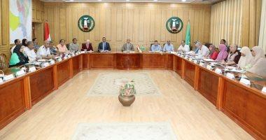 محافظ المنوفية يرأس إجتماع لجنة صندوق الإسكان الإقتصادى بالمحافظة