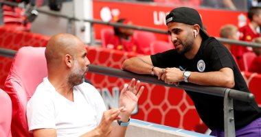 جوارديولا: رياض محرز جاهز للمشاركة مع مانشستر سيتى ضد وست هام غدا