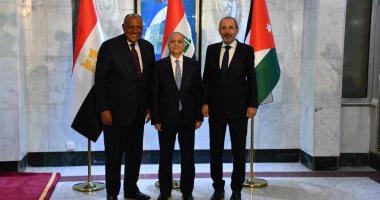 وزراء خارجية مصر والعراق والأردن يتفقون على التعاون فى مكافحة الإرهاب