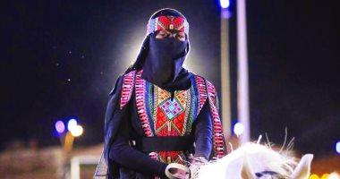 للمرةالأولى.. المرأة السعودية تشارك فى عروض الفروسية فى فرسان عكاظ