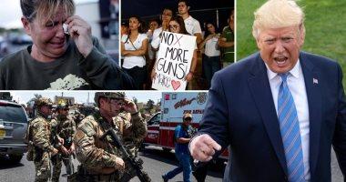 بعد هجوم تكساس وأوهايو.. ترامب يدعو لإجراء فحص أمنى لمشترى الأسلحة النارية