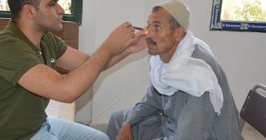 جامعة الفيوم تنظم قافلة طبية لقرية دسيا