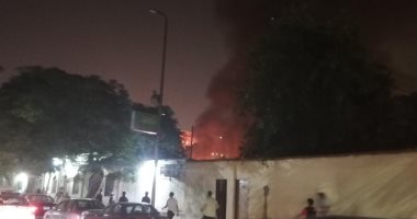 فيديو وصور انفجار المعهد القومي للأورام بالمنيل.. ووصول سيارات الإطفاء لإخماده