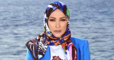 10 صور بالحجاب للفنانة أمل حجازى بعد طلبها الغفران من الجمهور
