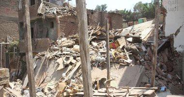 تفاصيل انقاذ الحماية المدنية لأربع مواطنين عالقين بعقار منهار بالاسكندرية