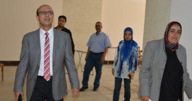 نائب رئيس جامعة أسيوط يشدد على انتهاء أعمال تطوير وحدة توثيق الميكروفيلمى