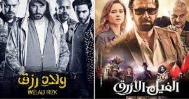 """""""الفيل الأزرق"""" و """"ولاد رزق"""" الأفضل فى القائمة القصيرة لجوائز السينما العربية 2019"""