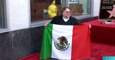 """فيديو.. هوليوود تُكرّم المخرج المكيسكى """"ديل تورو"""" بنجمة فى ممشى المشاهير"""