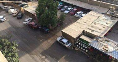 شكوى من انتشار الأكشاك والورش فى شارع ترعة الزمر بالمهندسين