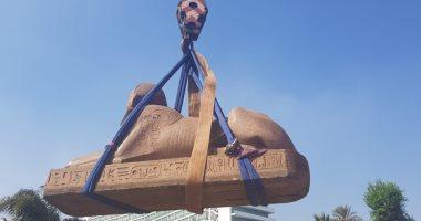 المتحف المصرى الكبير يستقبل قطعا أثرية جديدة