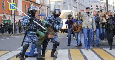 الشرطة الروسية تعتقل العشرات فى احتجاجات للمعارضة