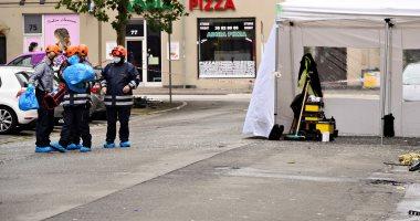 تفجير كوبنهاجن .. الشرطة الدنماركية تبحث عن هارب مشتبه به من موقع الحادث