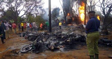فيديو وصور.. ارتفاع ضحايا انفجار ناقلة وقود فى تنزانيا لـ60 قتيلا و70 مصابا