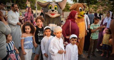 قارئ يشارك بصور من الاحتفالات عقب صلاة عيد الأضحى فى حلوان