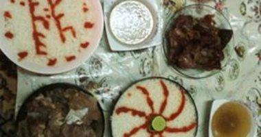 قارئة تشارك صورة طبق الفتة عبر صحافة المواطن: طبق رئيسى فى عيد الأضحى