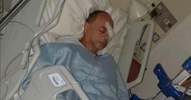 تامر مرسى يخضع لعملية جراحية فى عينه بلندن ويعود للقاهرة خلال أيام