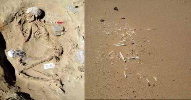 دراسة أجنبية لـ أقدم مقبرة أطفال فى العالم تعود للعصر الحجرى الحديث بمصر