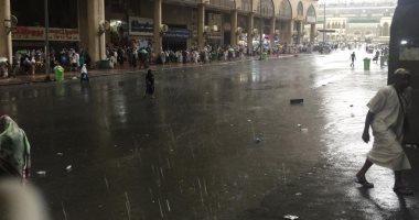 أمطار رعدية على عدد من محافظات منطقة مكة المكرمة
