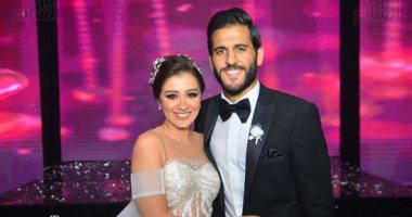 مروان محسن يحتفل بزفافه بحضور نجوم النادى الأهلى