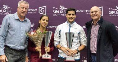 ثنائى وادى دجلة يتأهلان لبطولة العالم للاسكواش فى قطر
