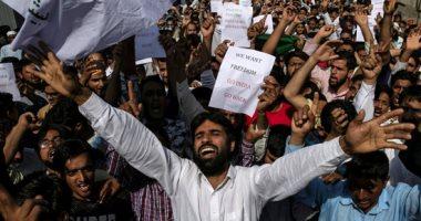 احتجاجات بعد صلاة العيد فى كشمير لإلغاء الهند الوضع الممنوح للإقليم