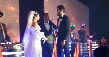 اخبار الرياضة – فيديو وصور.. مروان محسن يحتفل بزفافه فى أحد فنادق التجمع