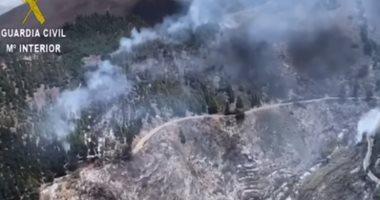 شاهد.. حرائق تلتهم أكثر من 1000 هكتار من الغابات فى إسبانيا
