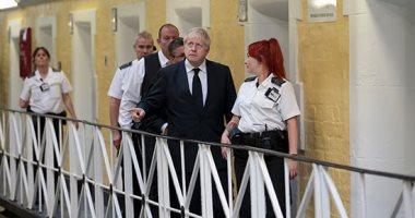 بوريس جونسون يزور السجن فى بداية حقبته كرئيس لوزراء بريطانيا