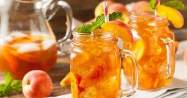 عشان الجو حر .. طريقة عمل عصير الخوخ فى البيت