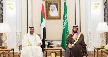 السعودية والإمارات يبحثان العلاقات الثنائية والتطورات على الساحة اليمنية