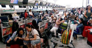 شرطة هونج كونج تعتقل 5 متظاهرين فى المطار
